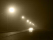 雾行动 库存照片