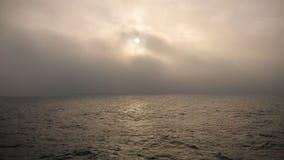 雾,英吉利海峡 免版税库存图片