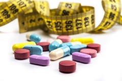 需要更多药片 免版税库存照片