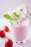 震动草莓 图库摄影