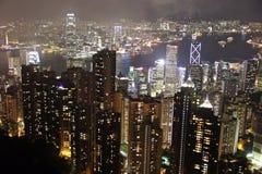 震惊香港 免版税库存照片