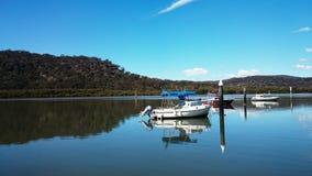 霍克斯伯里河视图@ Mooney Mooney,澳大利亚 免版税库存图片