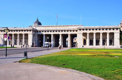 霍夫堡宫门在维也纳 免版税库存照片