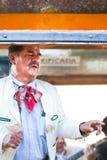 霍奇米尔科墨西哥流浪乐队歌手墨西哥城 免版税库存照片