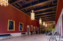 霍尔在奥斯陆香港大会堂 建筑在1931年开始的, Bu 库存照片
