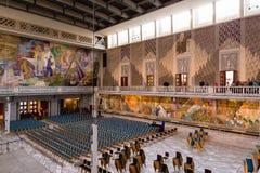 霍尔在奥斯陆香港大会堂 建筑在1931年开始的, Bu 免版税库存图片