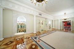 霍尔在盛大克里姆林宫宫殿 免版税库存照片