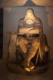 霍尔格雕象在克朗伯格城堡 库存照片