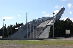 霍尔门科伦跳高滑雪小山奥斯陆 免版税库存图片