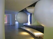 霍尔高级旅馆。高科技的样式,空间。 图库摄影