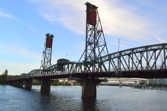 霍桑桥梁波特兰 库存图片
