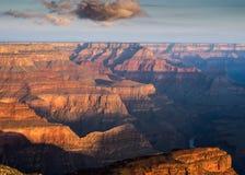 霍皮族点,大峡谷,亚利桑那 免版税库存照片