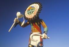 霍皮族Kachina玩偶 免版税图库摄影