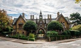 霍莉村庄,在海格特,北部伦敦 库存照片