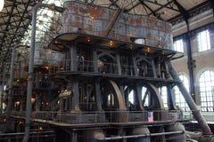 霍莉蒸汽抽的引擎 库存照片