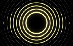 霓虹发光的线,不可思议的能量空间光概念 向量例证