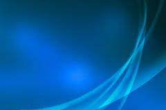 霓虹抽象的线路 免版税库存照片
