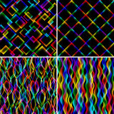 霓虹抽象的背景 库存图片