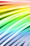霓虹火焰-数字式背景。 库存照片