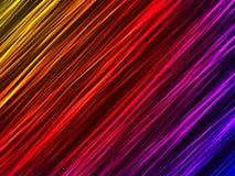 霓虹背景五颜六色的线路 免版税库存图片