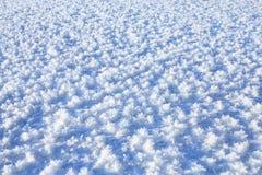 霜冻结的湖 免版税库存图片