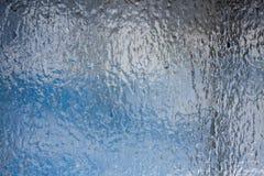 结霜的视窗 库存图片