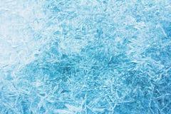 霜,霜,冰纹理 图库摄影