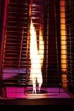露台的煤气加热器 免版税图库摄影