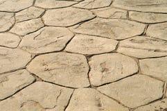 露台石头 免版税库存图片