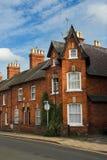 露台英国的房子 免版税库存照片