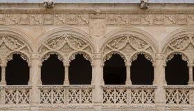 露台del Colegio de的细节 免版税库存照片