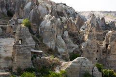露天博物馆在Goreme 卡帕多细亚, 库存图片