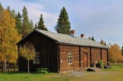 露天博物馆Hägnan 免版税库存图片