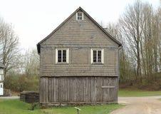 露天博物馆Hessenpark,德国 免版税库存图片