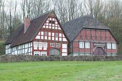 露天博物馆Hessenpark,德国 库存图片