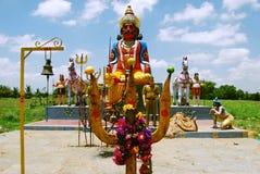 露天寺庙在南印度 免版税库存图片
