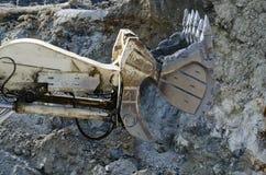 露天开采矿机械 免版税库存图片