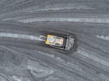 露天开采矿矿,品种排序 采矿煤炭 推土机排序煤炭 农业,硬煤 煤炭工业 图库摄影