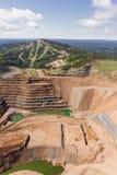 露天开采矿矿 库存图片