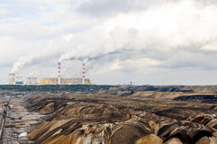 露天开采矿矿 图库摄影