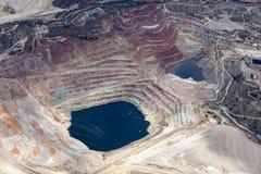 露天开采矿采矿 库存图片