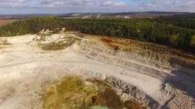 露天矿和工厂 影视素材