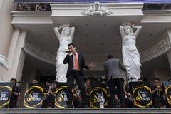 露天音乐会在西贡 免版税库存照片