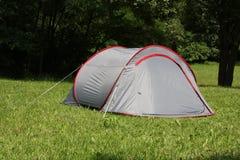 露宿帐篷 库存照片