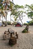 露营地在哥伦比亚 库存图片