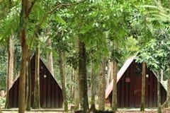 露营地 库存照片