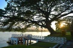 霹雳州河 免版税图库摄影