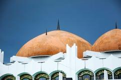 霹雳州状态清真寺圆顶在怡保,霹雳州,马来西亚 库存照片