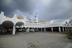霹雳州状态清真寺在怡保,霹雳州,马来西亚 免版税库存照片