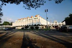 霹雳州状态清真寺在怡保,霹雳州,马来西亚 库存照片
